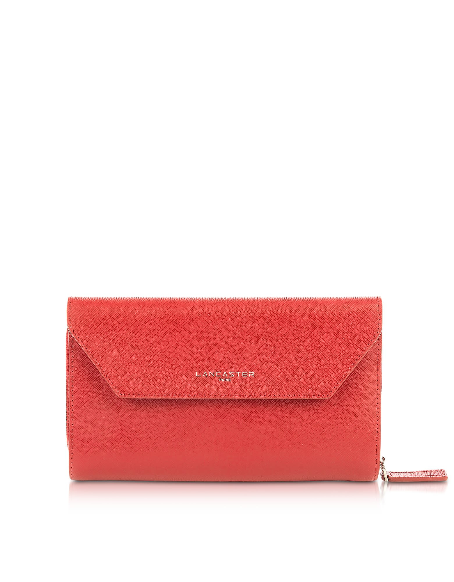 Lancaster Paris Adele Leather Continental Wallet