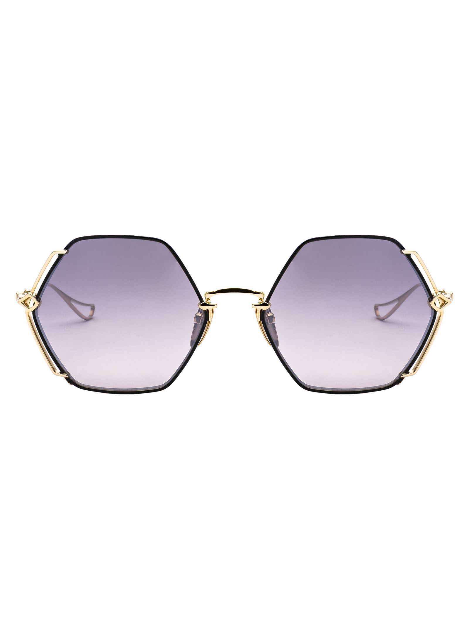 CHROME HEARTS Oversized Sunglasses in Sbkgp
