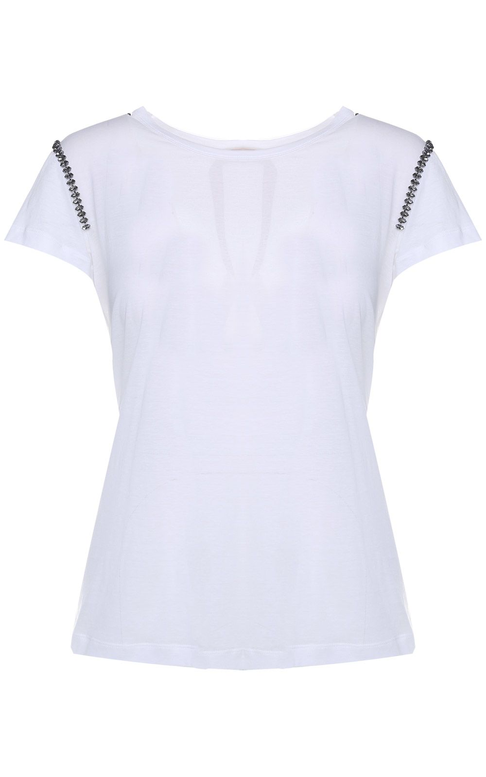Crystal-embellished cotton-jersey t-shirt N°21 Sale Many Kinds Of Cheap Price Enjoy Sale Online Cheap With Mastercard Sale Marketable lGVCBPEJ9b