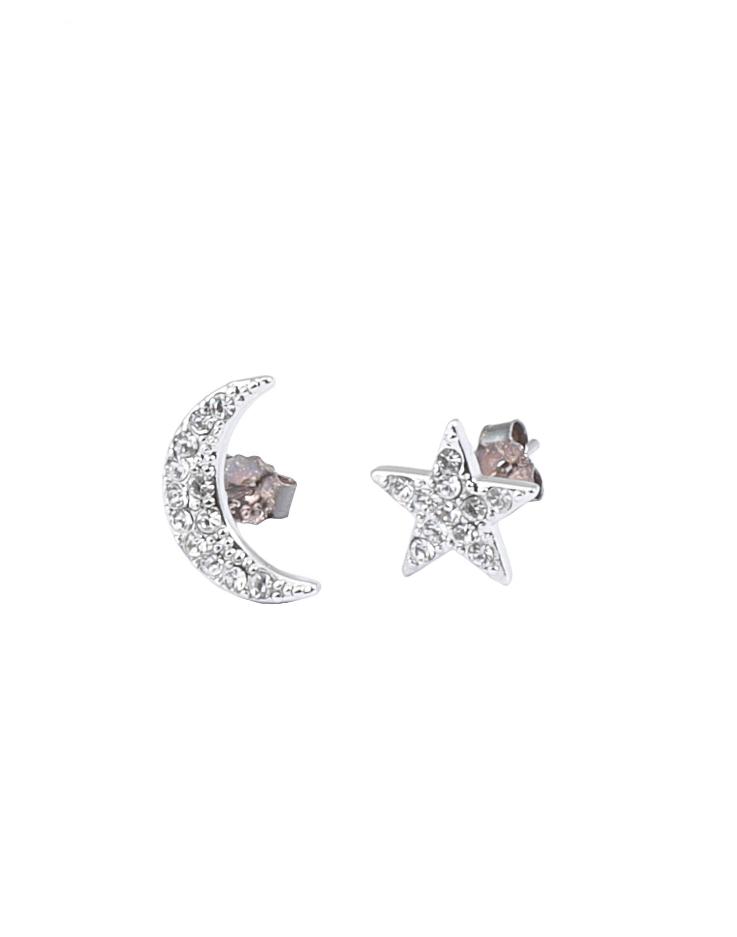 Federica Tosi LOBO MOON AND STAR EARINGS