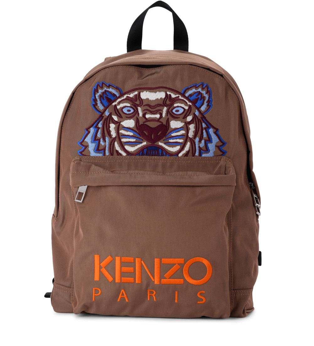CAMEL FABRIC TIGER BACKPACK