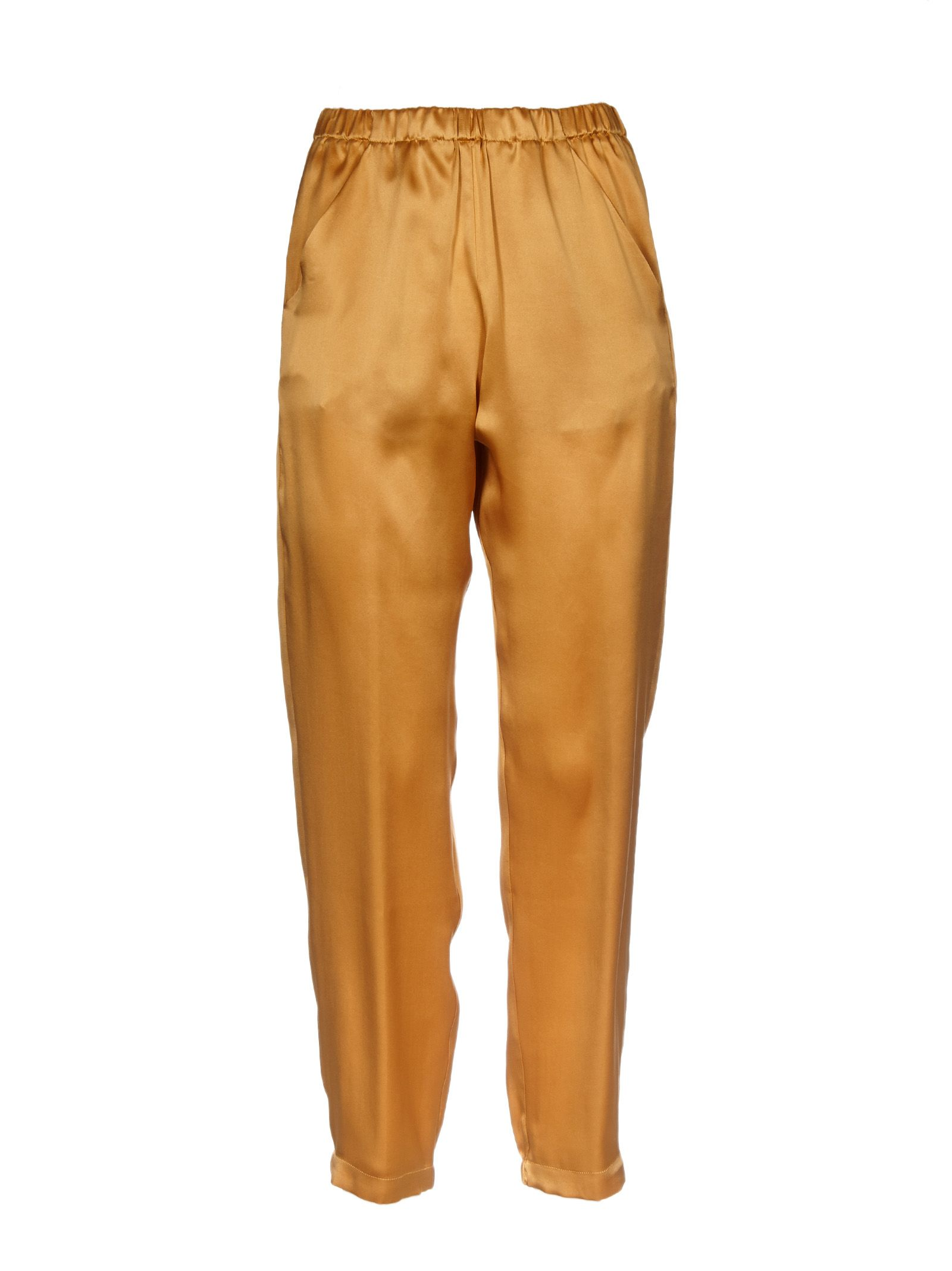 cropped skinny trousers - Yellow & Orange Forte_Forte 0LOWM