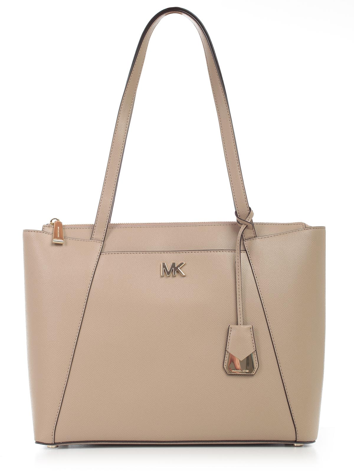 cdf3498837de Michael Michael Kors Maddie Tote In Truffle | ModeSens