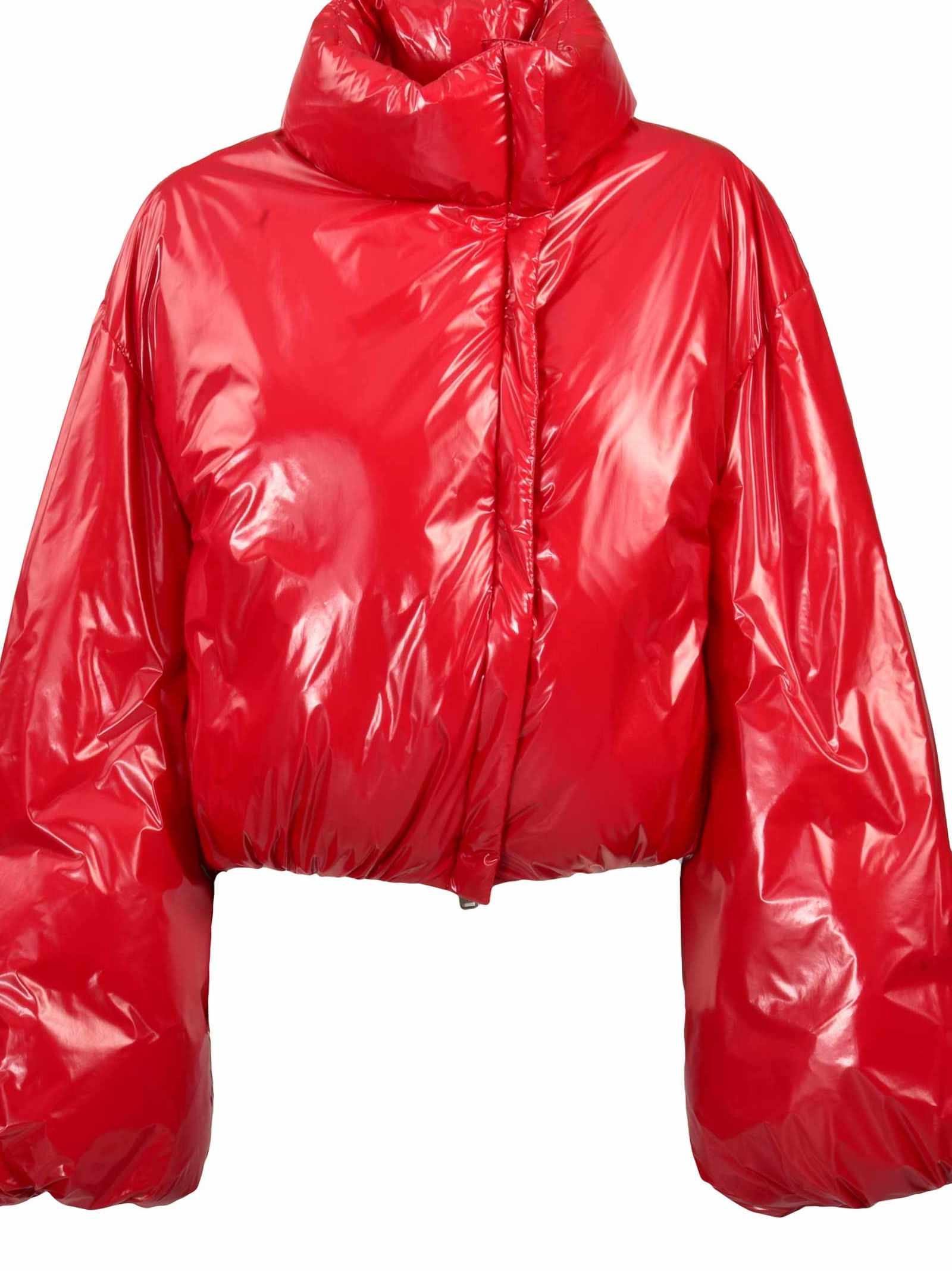 ADD Afterhomework X Add Cropped Padded Jacket in Red