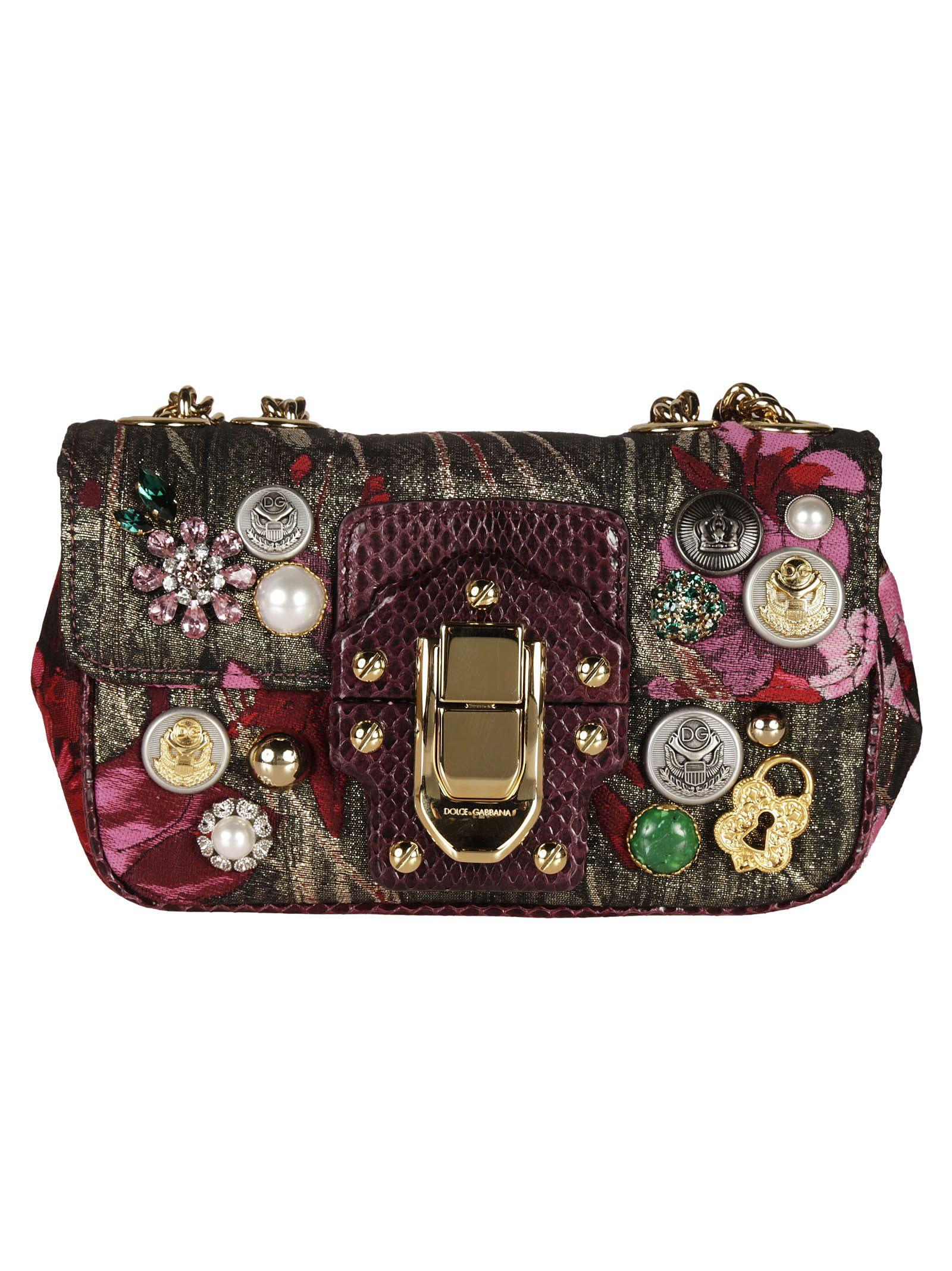 Floral Print Lucia shoulder bag - Multicolour Dolce & Gabbana AyPM7UX