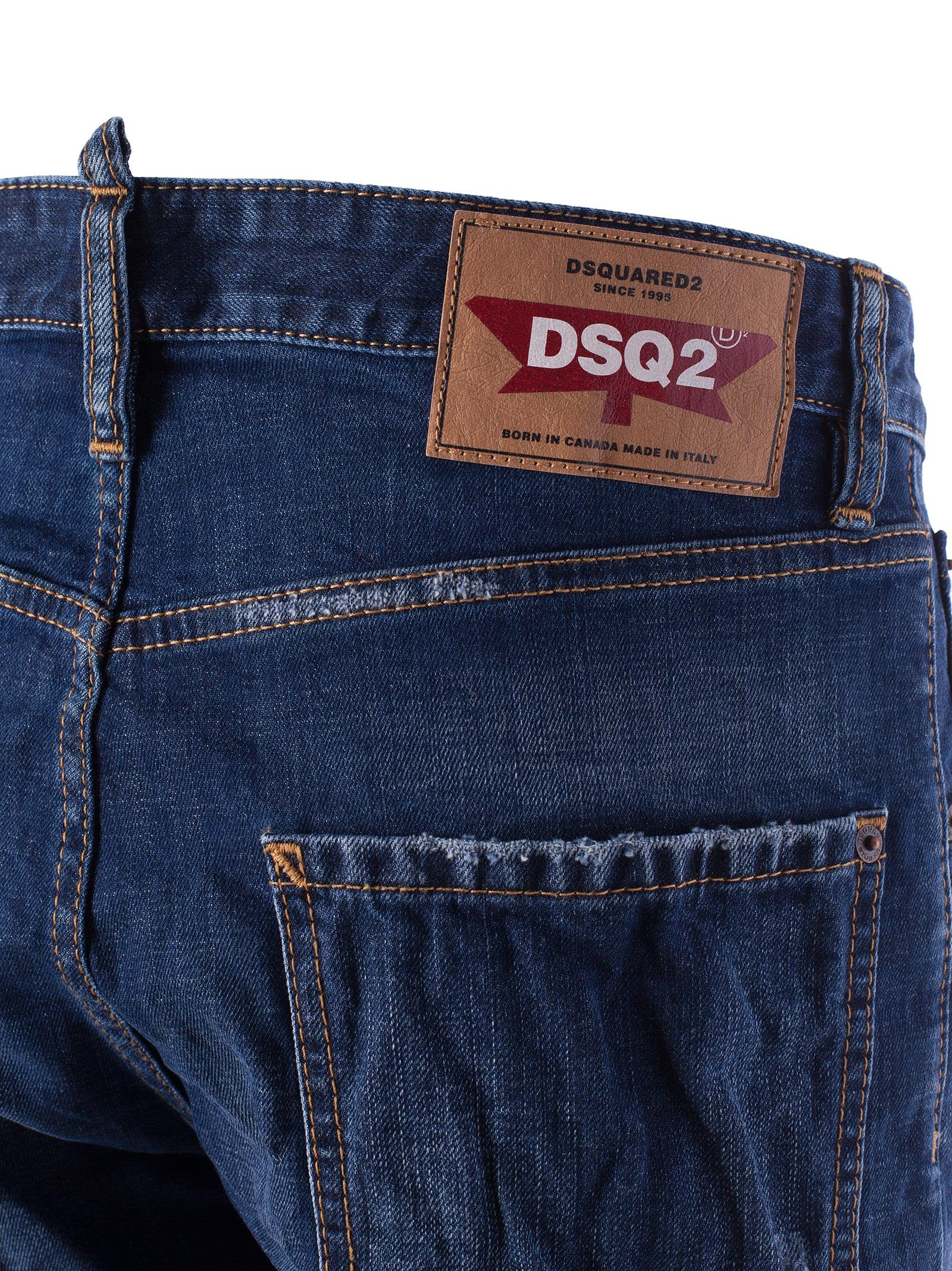 Release Dates Cheap Price stonewash effect denim shorts - Blue Dsquared2 Quality Free Shipping xzH4NH3B
