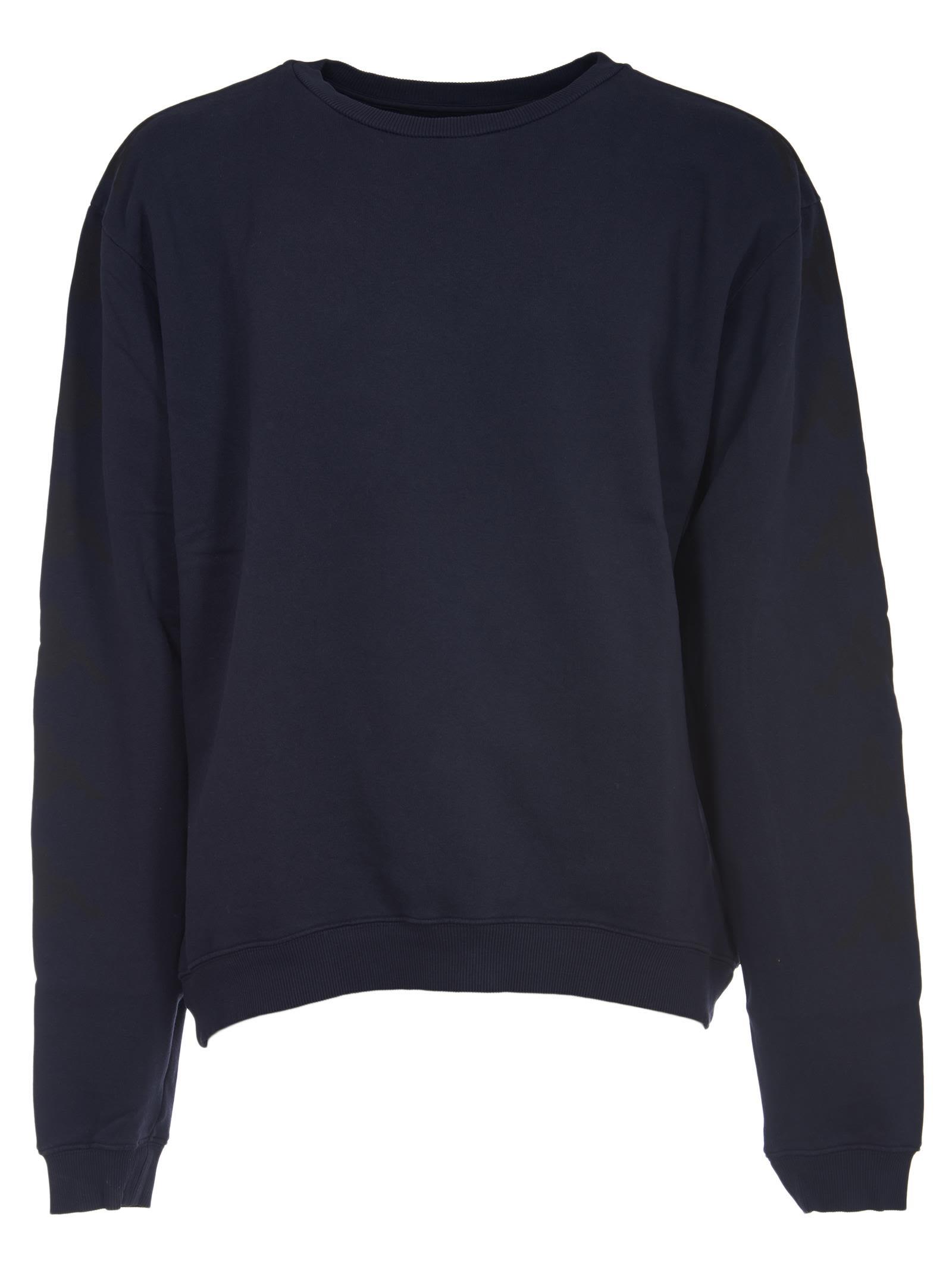 DANILO PAURA Classic Sweatshirt in Blue Navy
