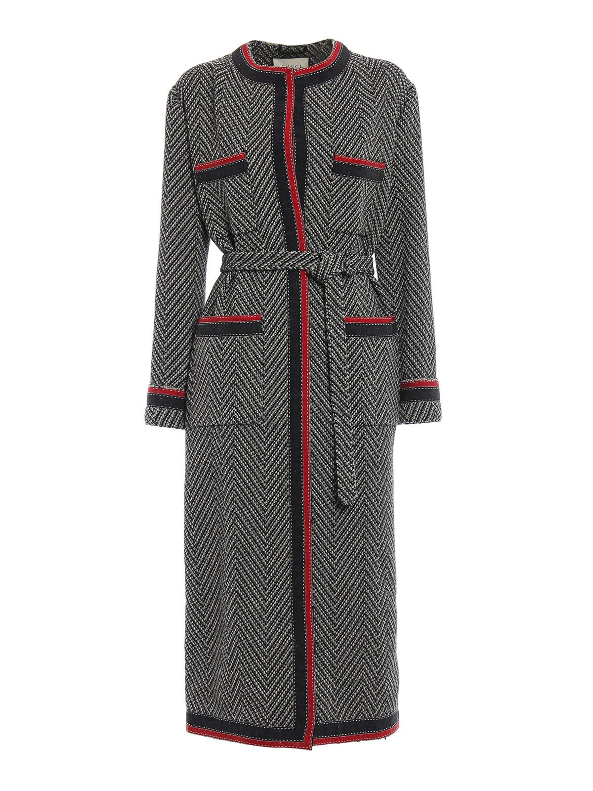 GUCCI RIBBON COAT