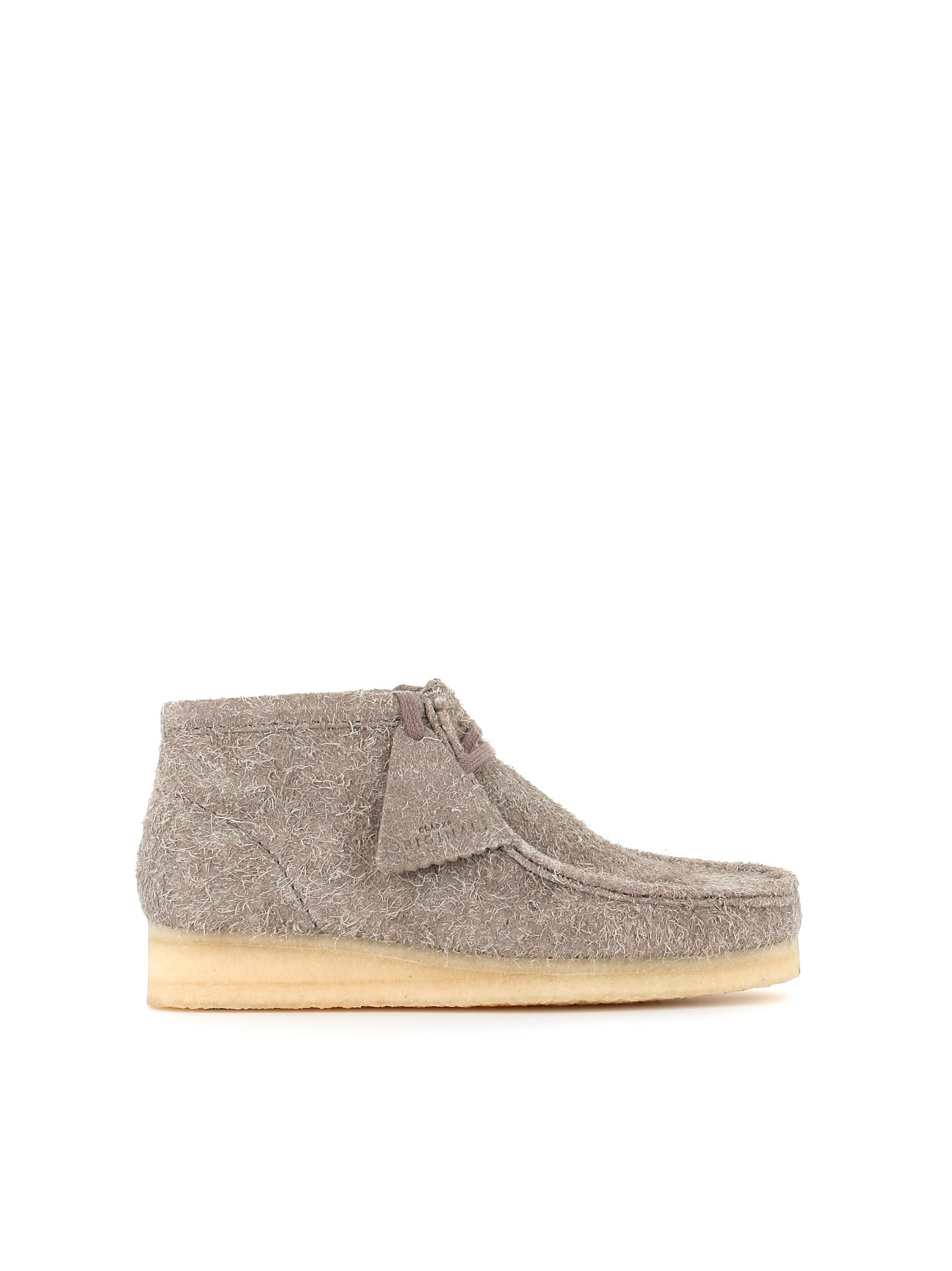"Desert-Boots ""Wallabee Boot"" in Grey"