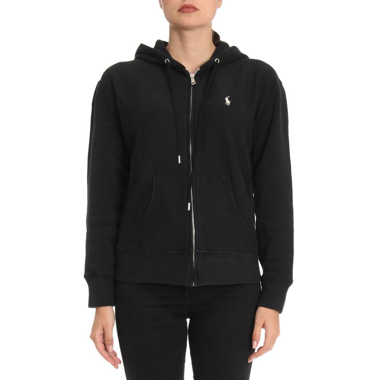 Polo Ralph Lauren Sweater Sweater Women In Black Modesens