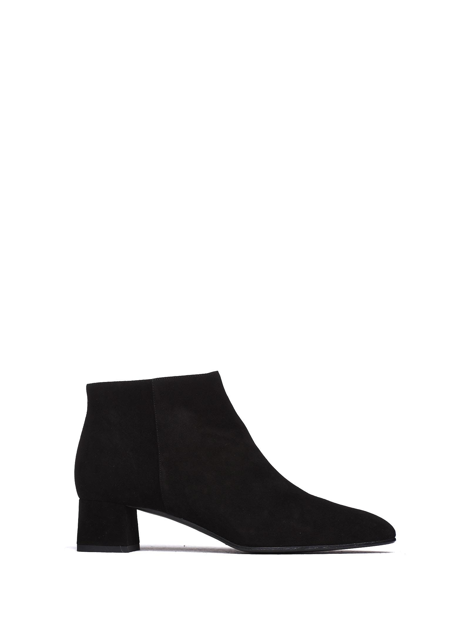 FRATELLI ROSSETTI Ankle Boots In Black Suede in Nero