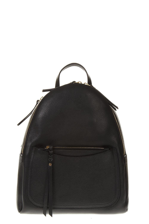 GIANNI CHIARINI Black Leather Backpack