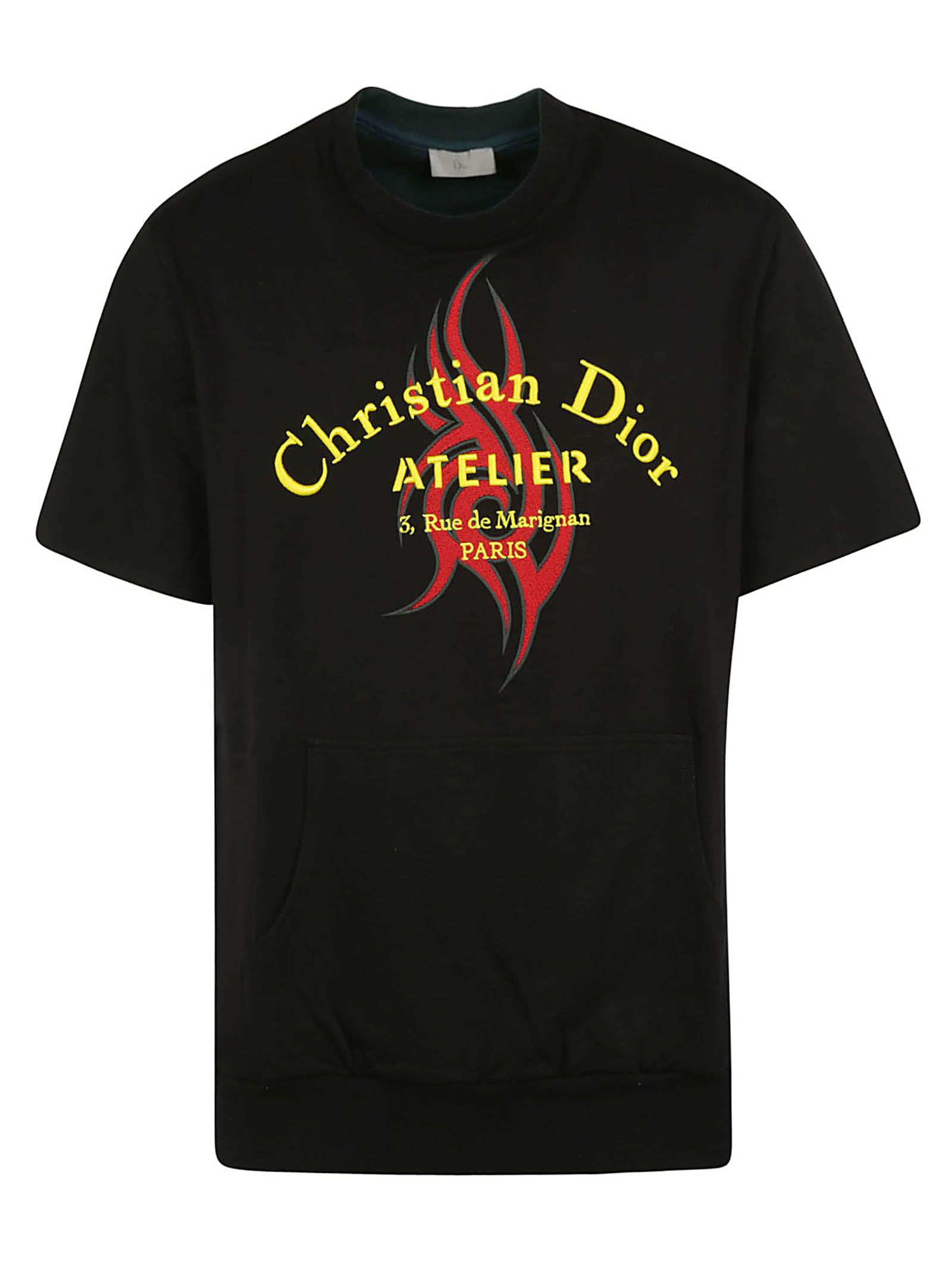 DIOR HOMME Christian Dior T-Shirt in Multicolor