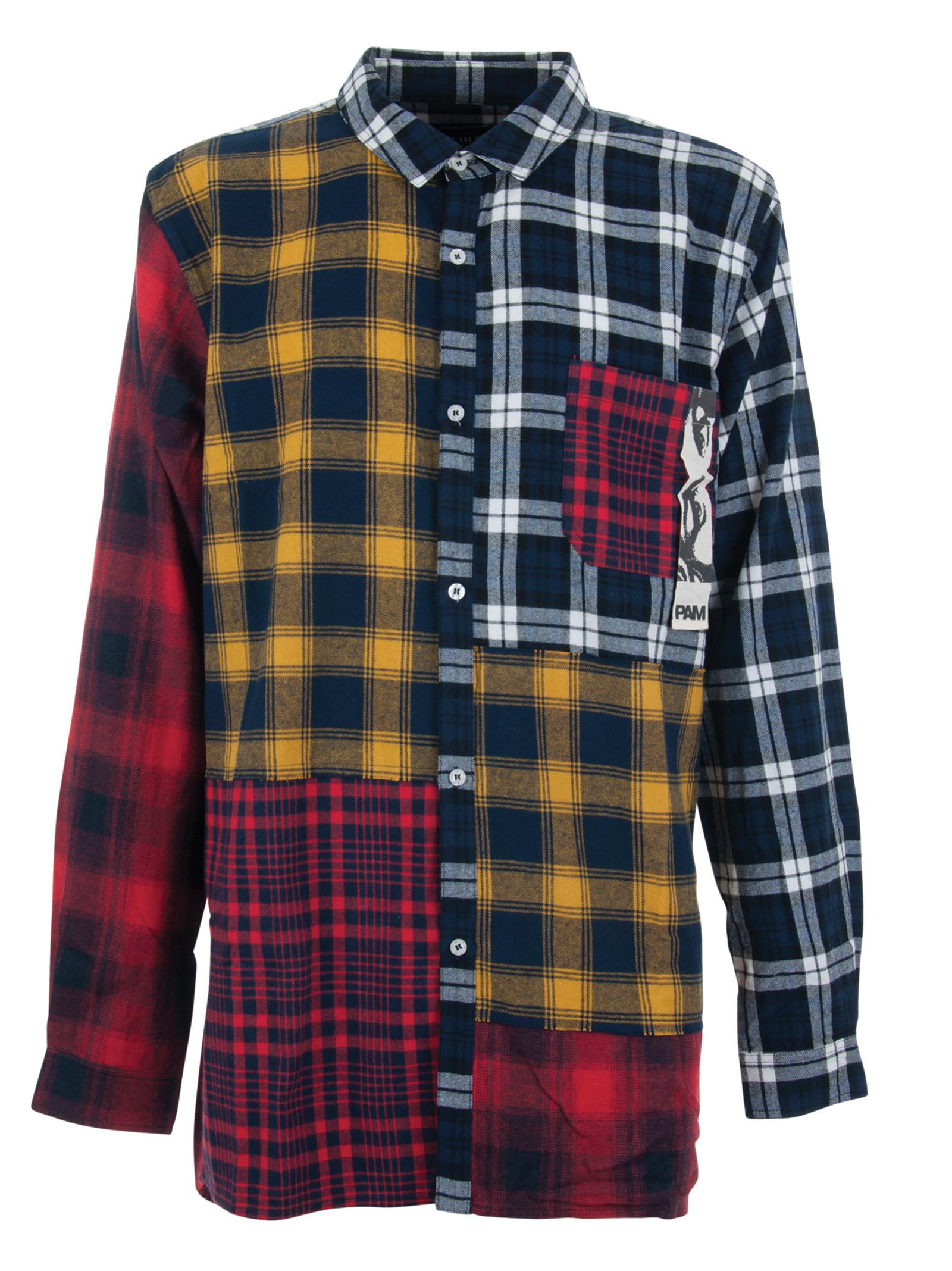 Perks And Mini P.a.m. Axelrod Multi Flannel Shirt