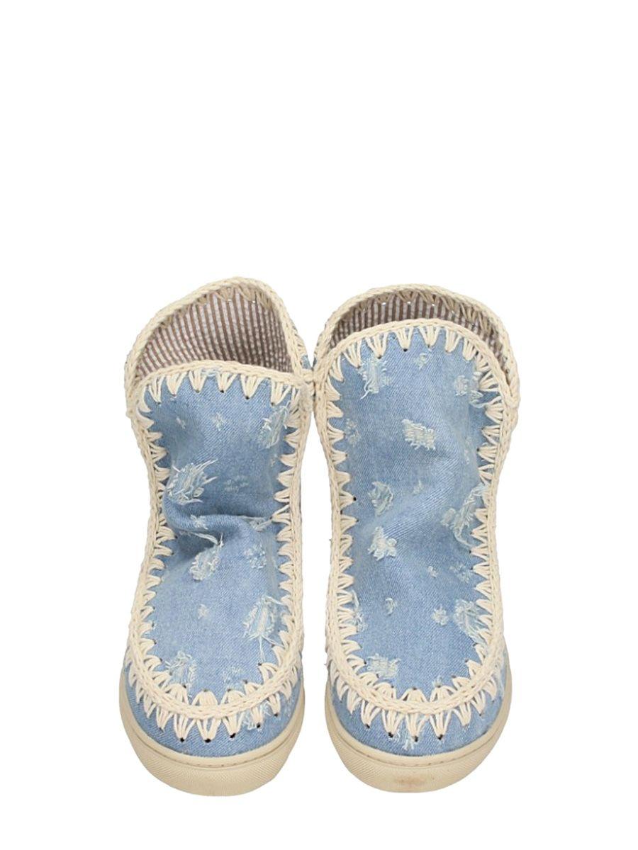 Mou Eskimo Denim Sneakers Outlet Visa Payment lPXcLIo3