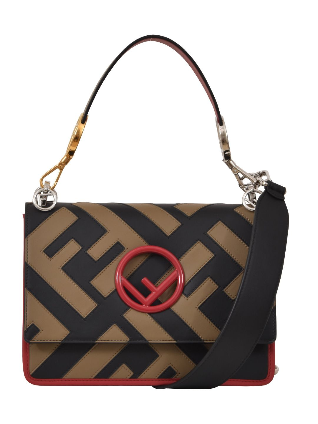 FENDI FF KAN I CROSSBODY MD BAG