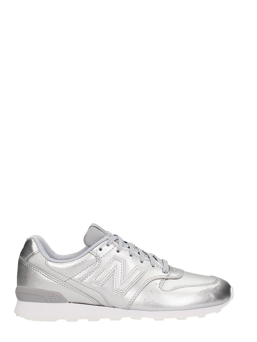 New Balance 996 Silver Leather Sneakers