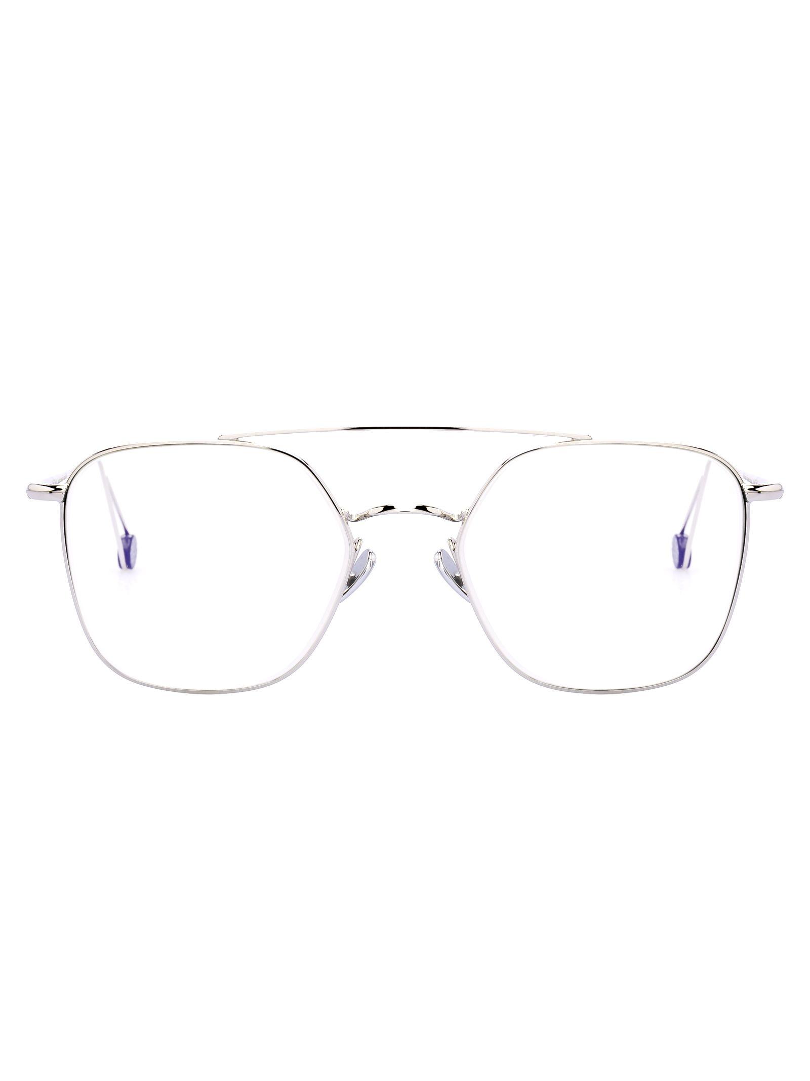Ahlem Concorde Glasses, White Gold