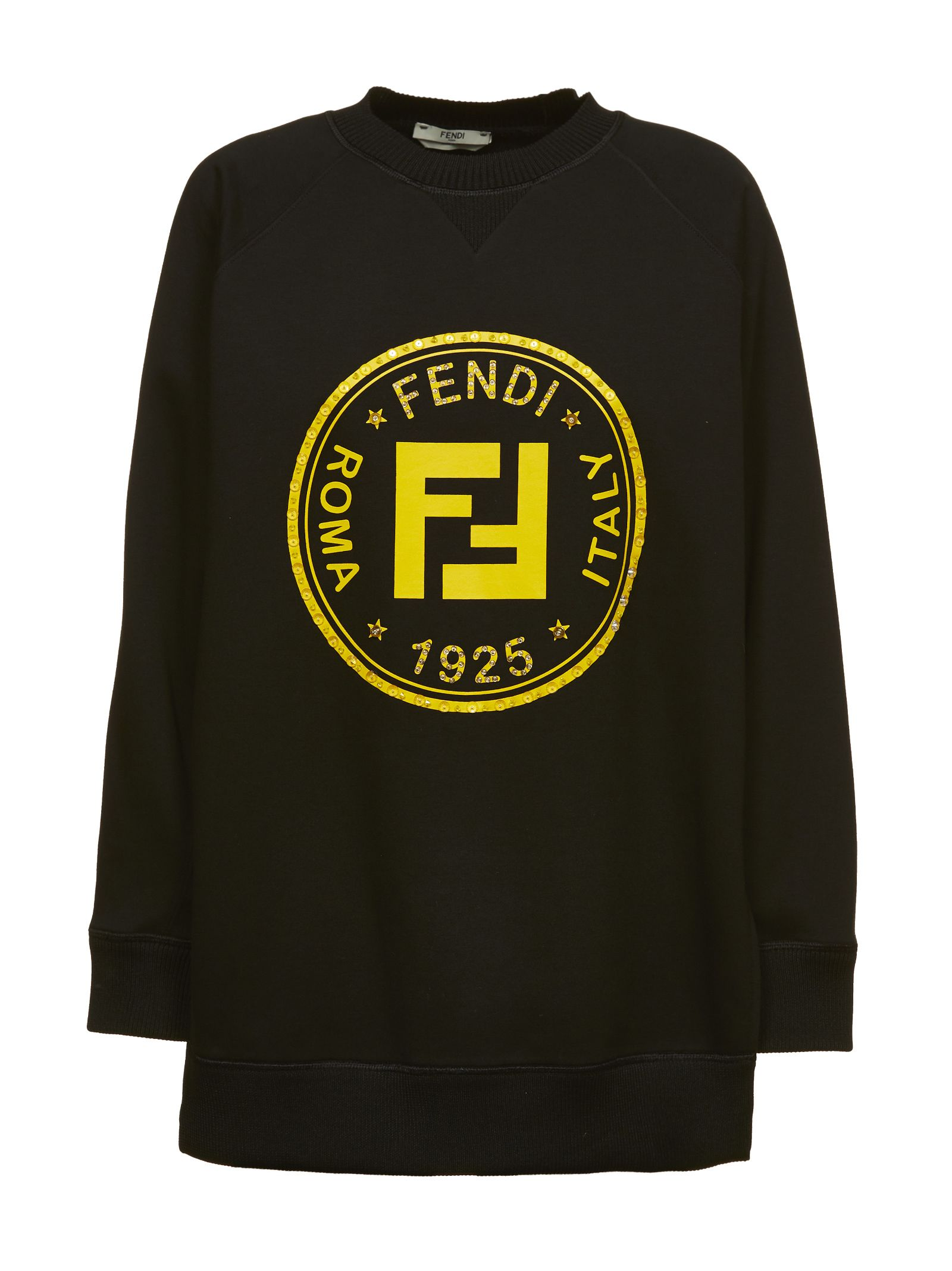 FENDI OVERSIZED PRINTED SWEATER