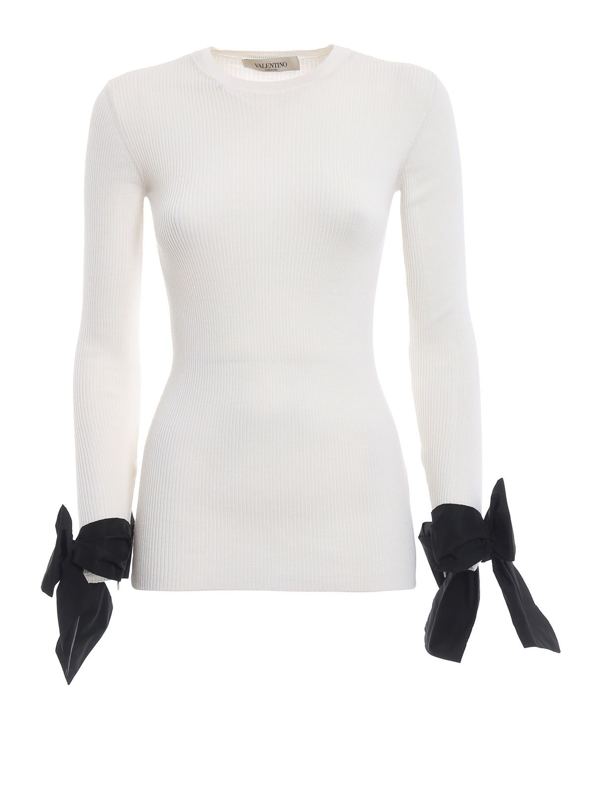 Valentino Tied Cuffs Sweater
