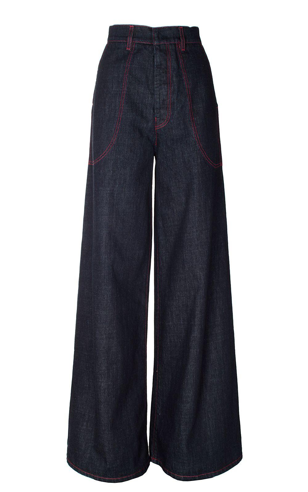 Marni High-rise Wide-leg Jeans 6527088