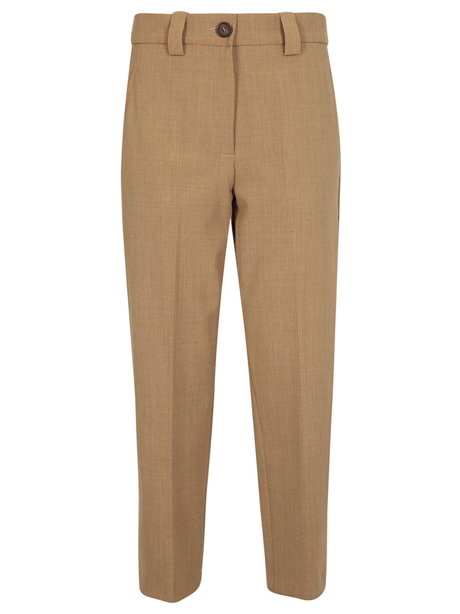 Erika Cavallini Cropped Straight-leg Trousers