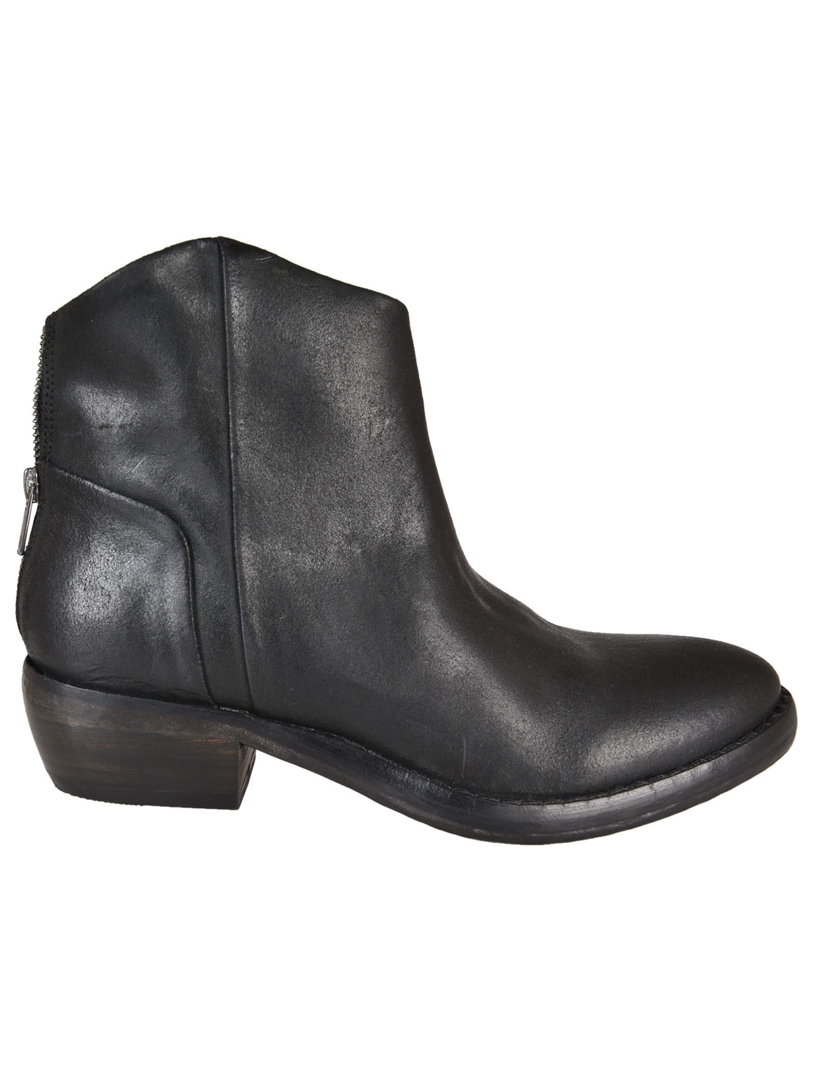 Catarina Martins Roger Mold Zip Ankle Boots ...