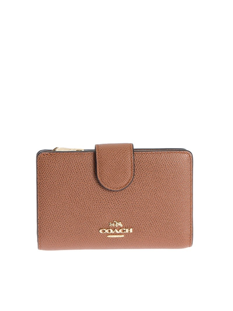 Coach Leather Continental Wallet