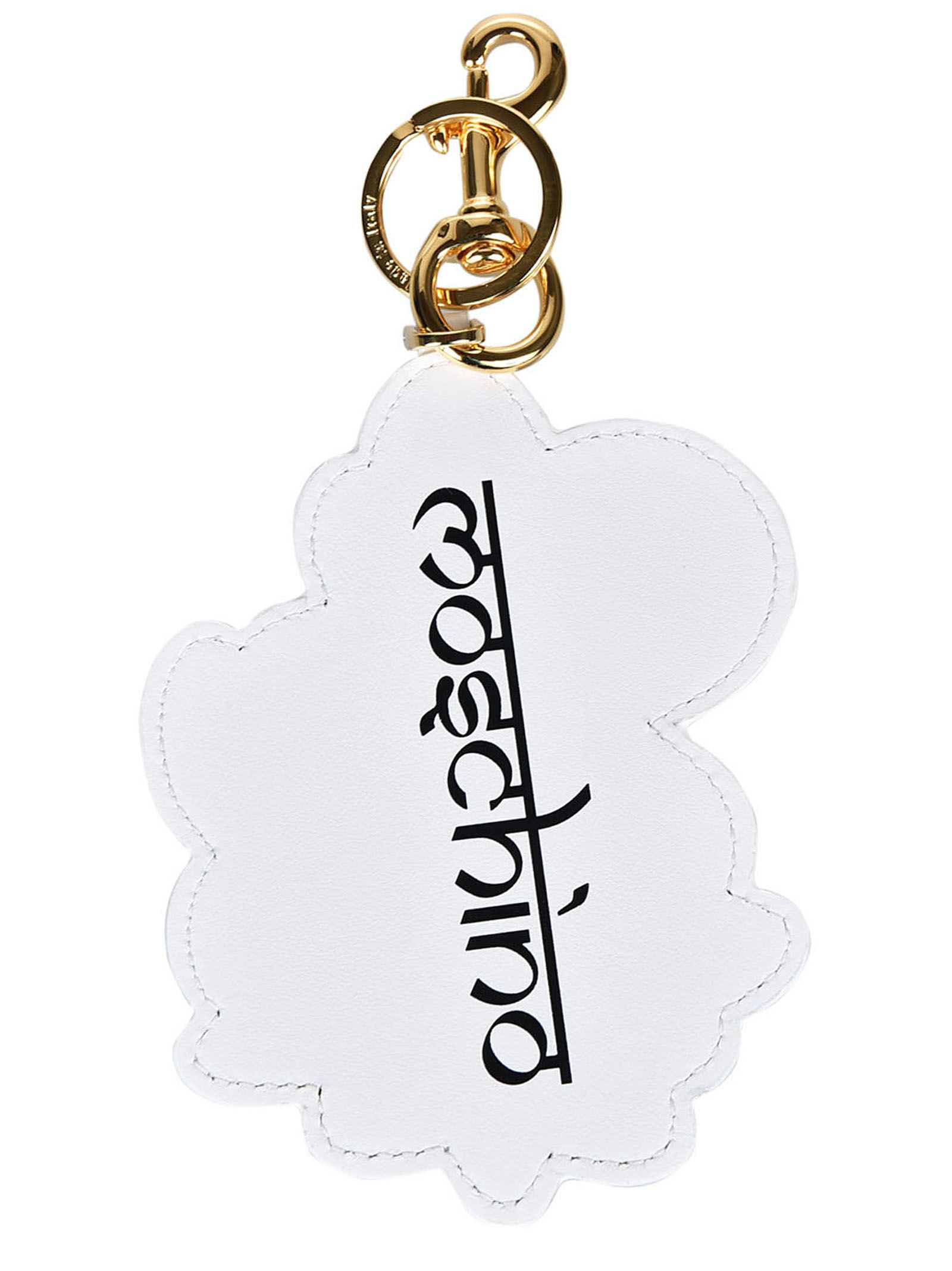 Moschino crowned monkey keyring - Multicolour 30mykLc
