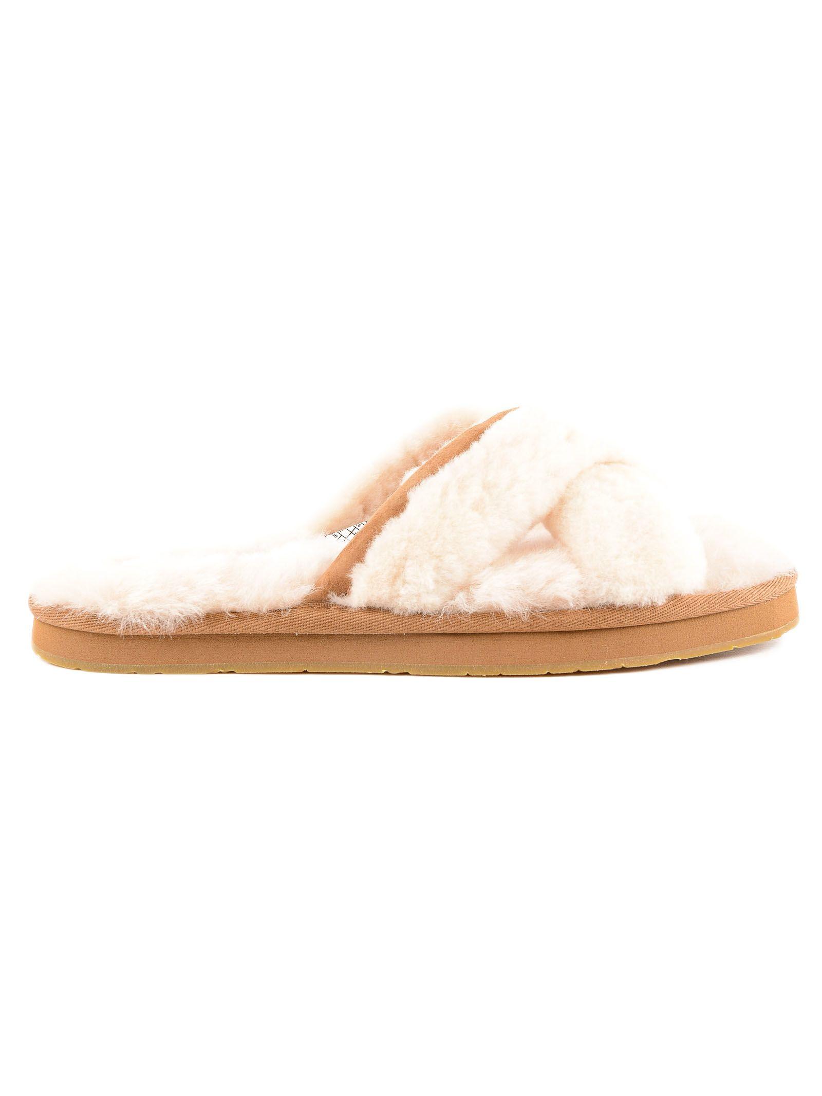 Ugg Fur Flip Flops