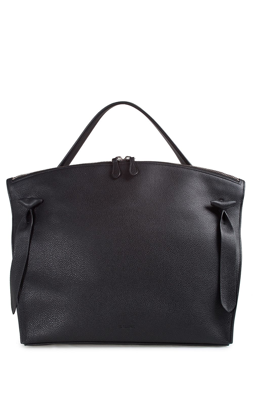 Jil Sander Hill Medium Leather Tote
