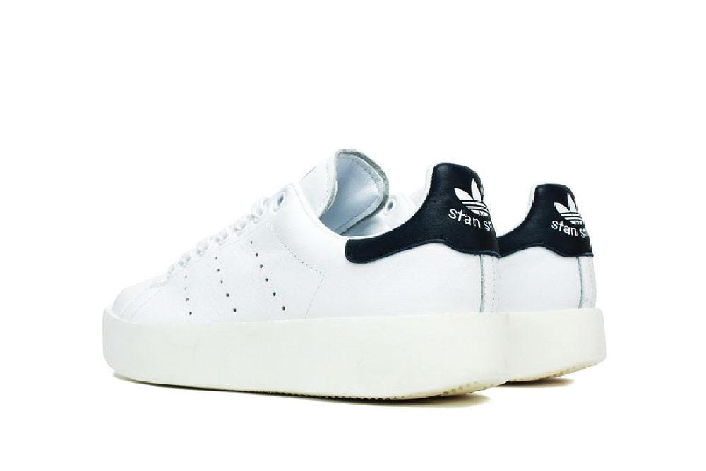 ... Adidas Stan Smith Bold Platform Sneakers - Blacknavy