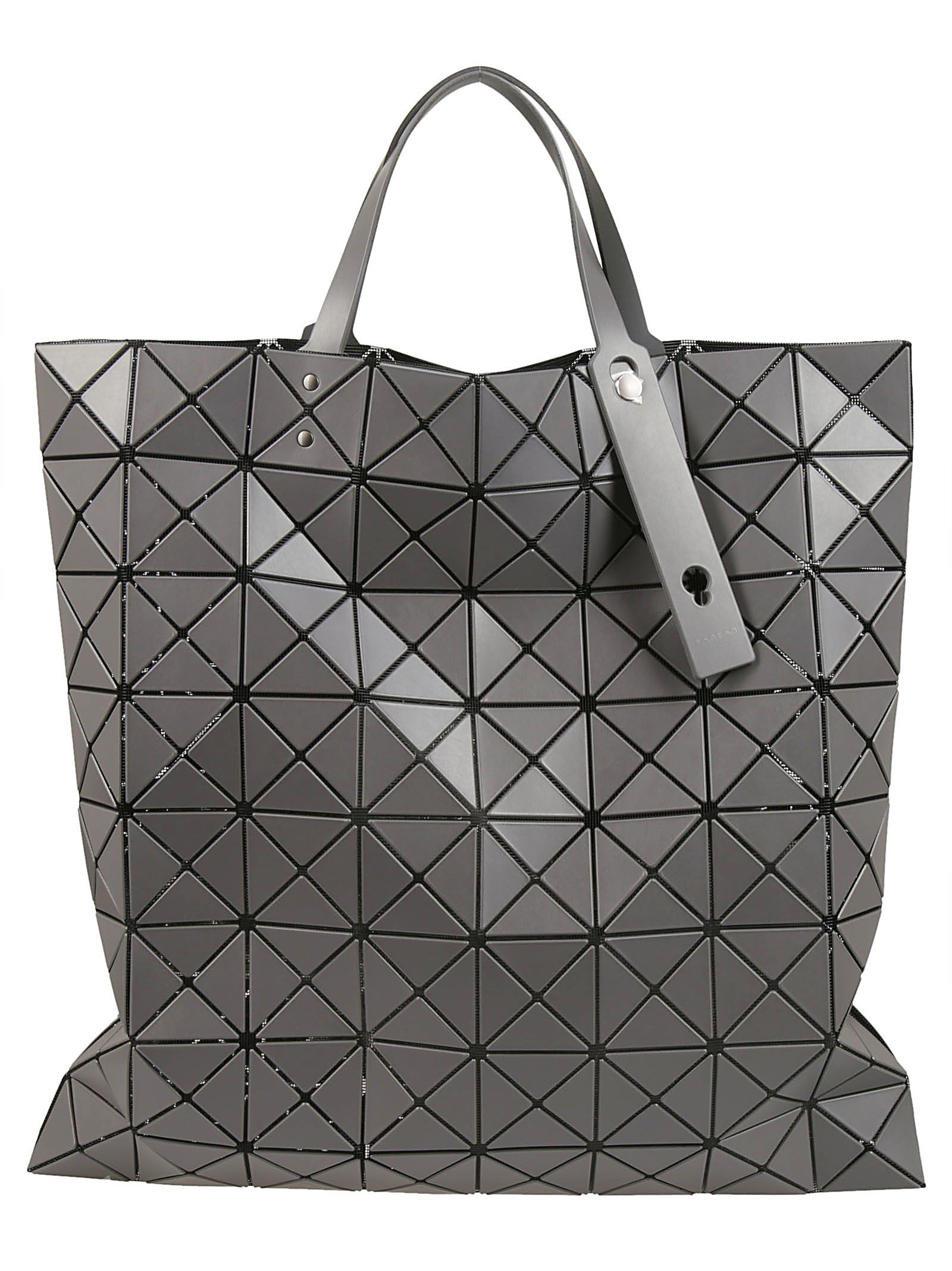 Bao Bao Issey Miyake Lucent Matte Tote In Charchoal  2ce8547ac6d79