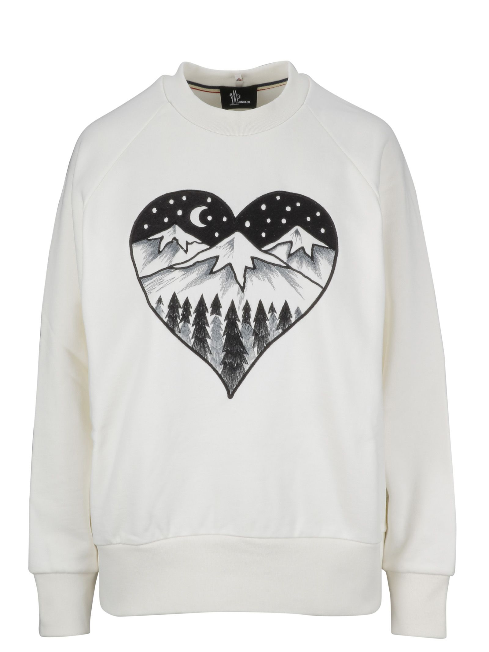 Moncler Grenoble Cottons APRES SKI EMBROIDERED SWEATER
