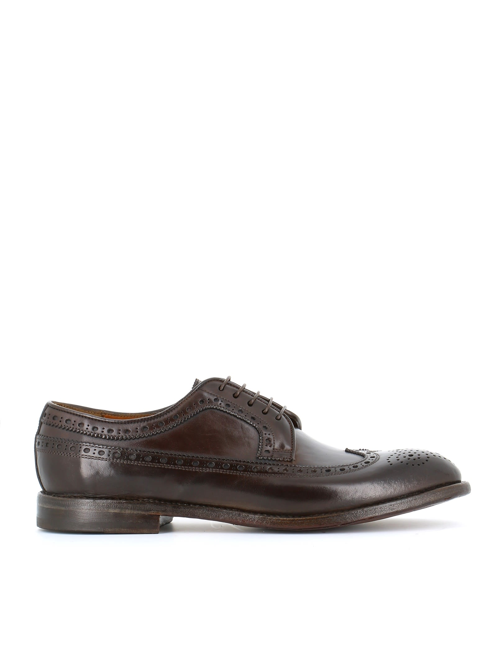 """W.GIBBS W.Gibbs Brogues """"0337005"""" in Brown"""