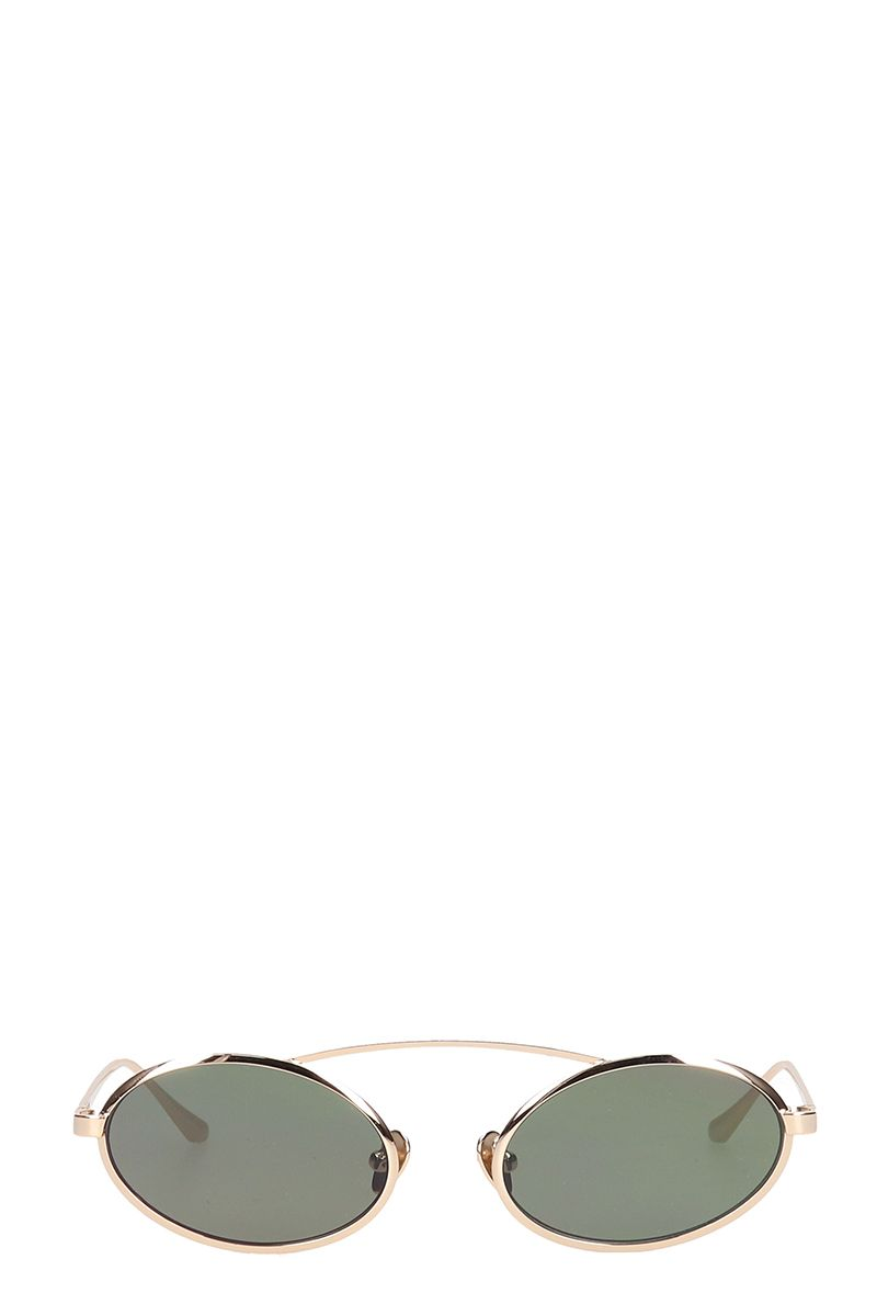 Self-Portrait Sunglasses JAMIE ROUND AVIATOR SUNGLASSES