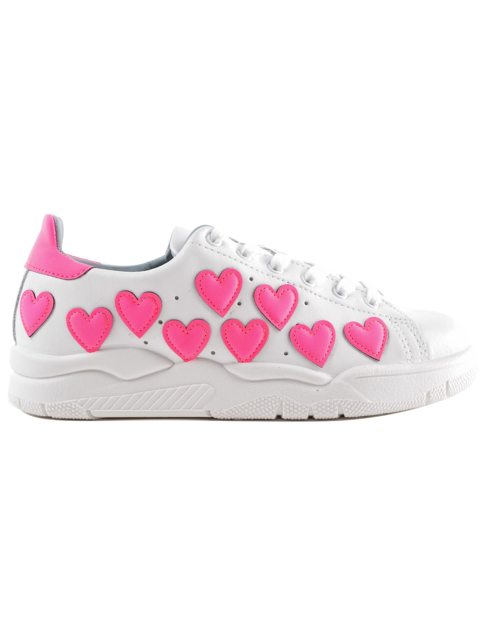 Discounts For Sale Cheap Sale Best Store To Get Chiara Ferragni Embellished Heart Roger Sneakers Best Selling Classic Sale Online Discount Deals veM6x0