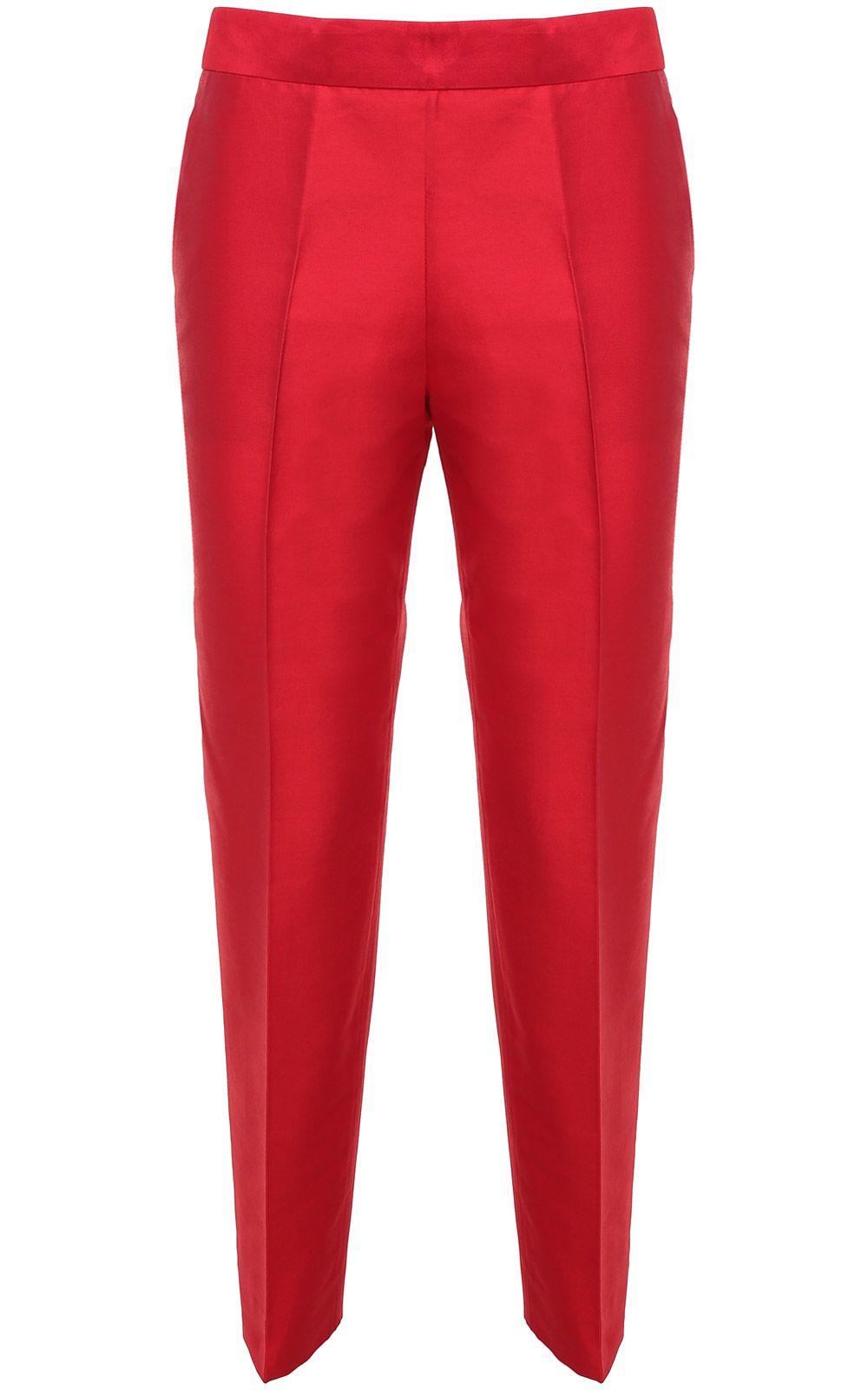 Shantung Pantalon Droit Alberto Biani TEAe7LiM