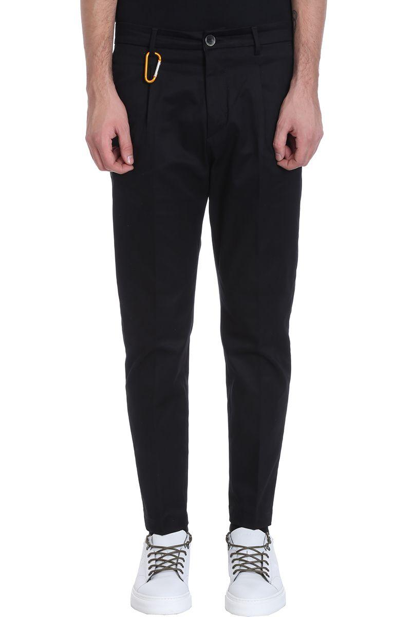 Low Brand Black Cotton Pants