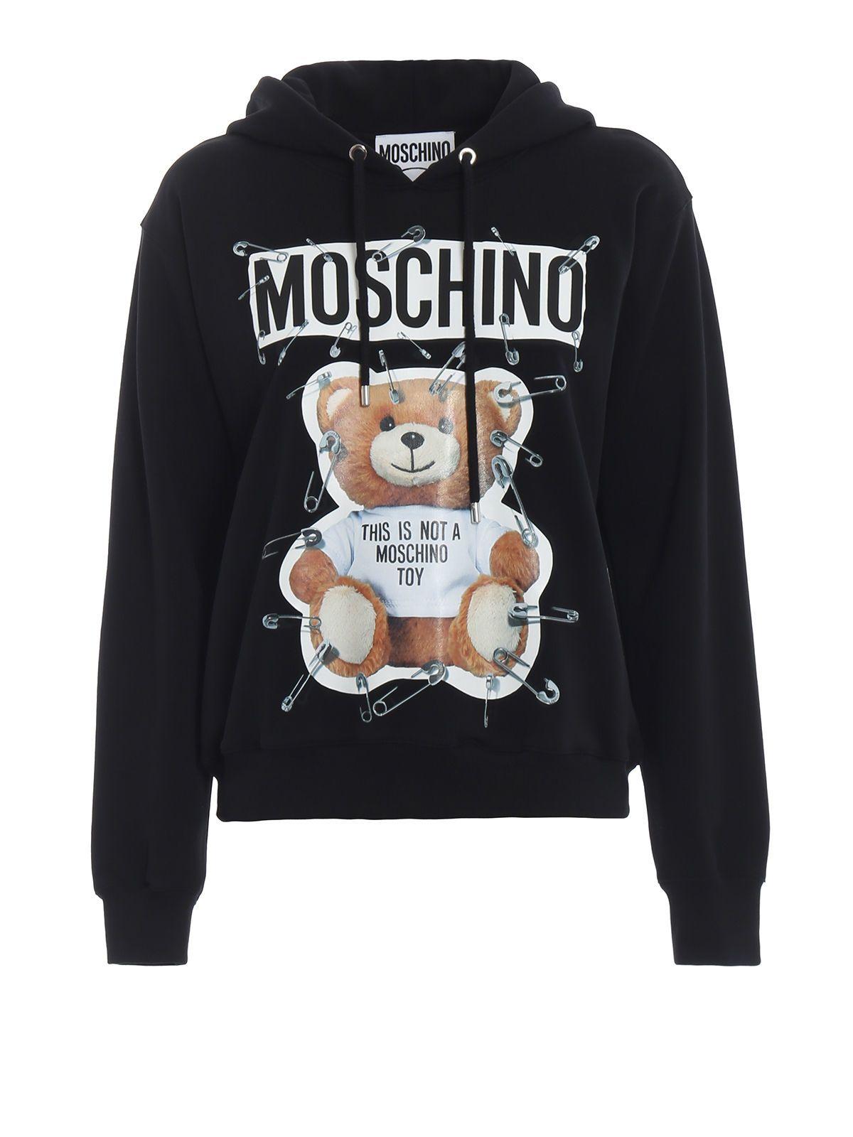 Moschino Cottons TEDDY BEAR HOODIE