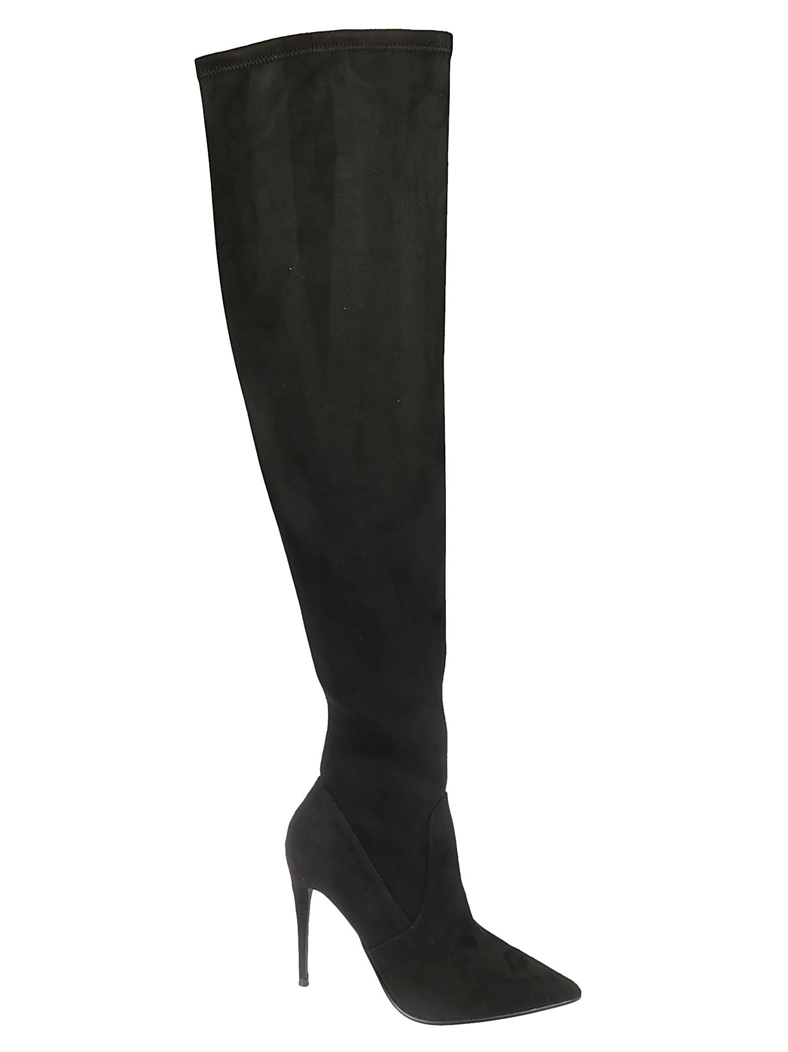 Dada Over-The-Knee Boots in Black