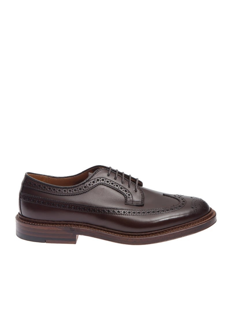 ALDEN SHOE COMPANY DERBY LEATHER
