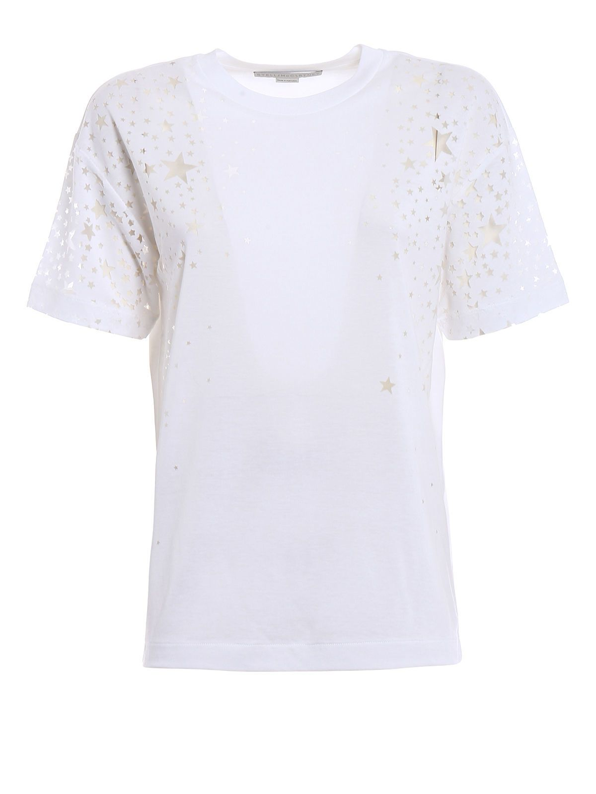 Outlet Authentic Clearance Best basic T-shirt - White Stella McCartney Perfect Enjoy Sale Online uoqmvm3CRf