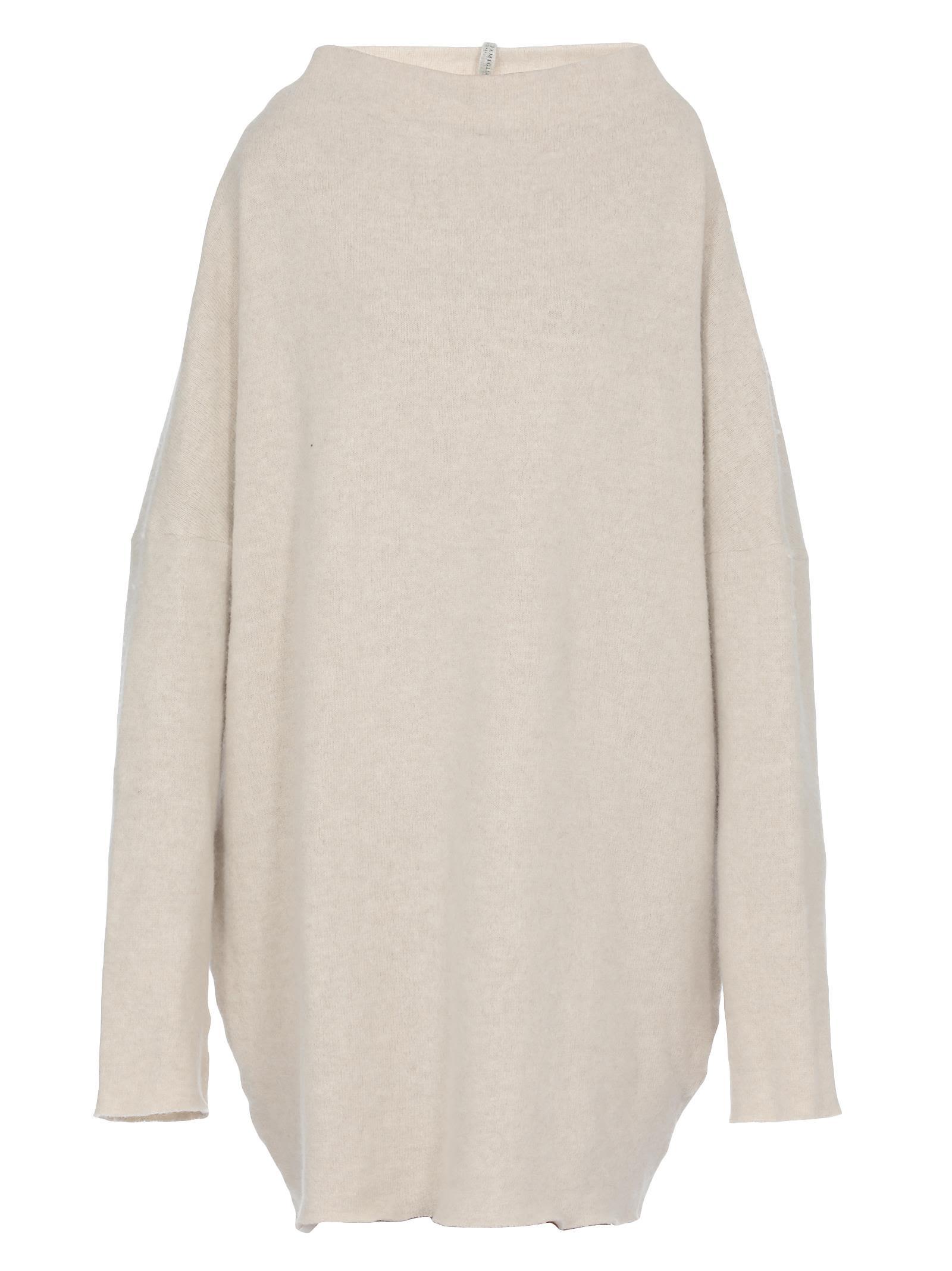 ALBUM DI FAMIGLIA Woo Sweater in Off White