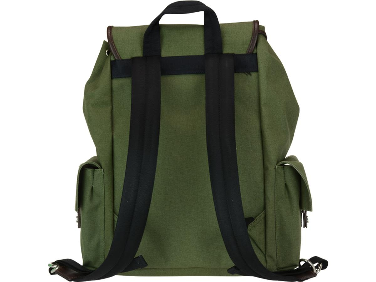 70839e343ee8 Dsquared2 - Dsquared2 Bad Scout Military Trimmed Backpack - Military ...