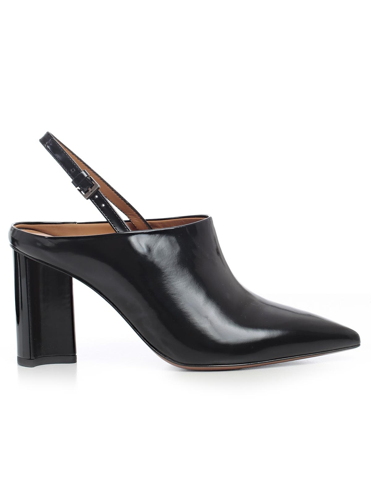 ROBERT CLERGERIE SLING BACK MULES