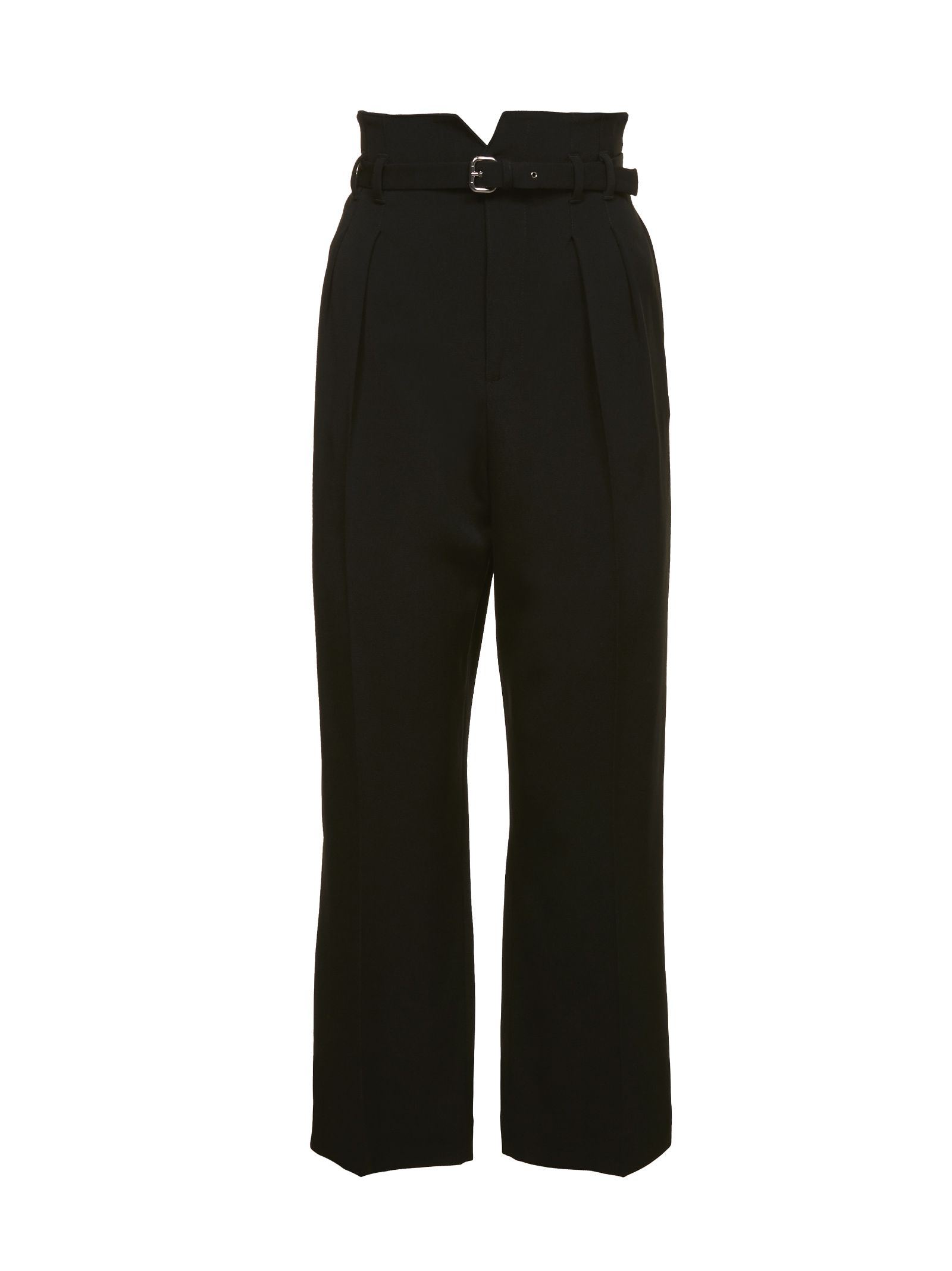 Red Valentino Buckled Cropped Trousers