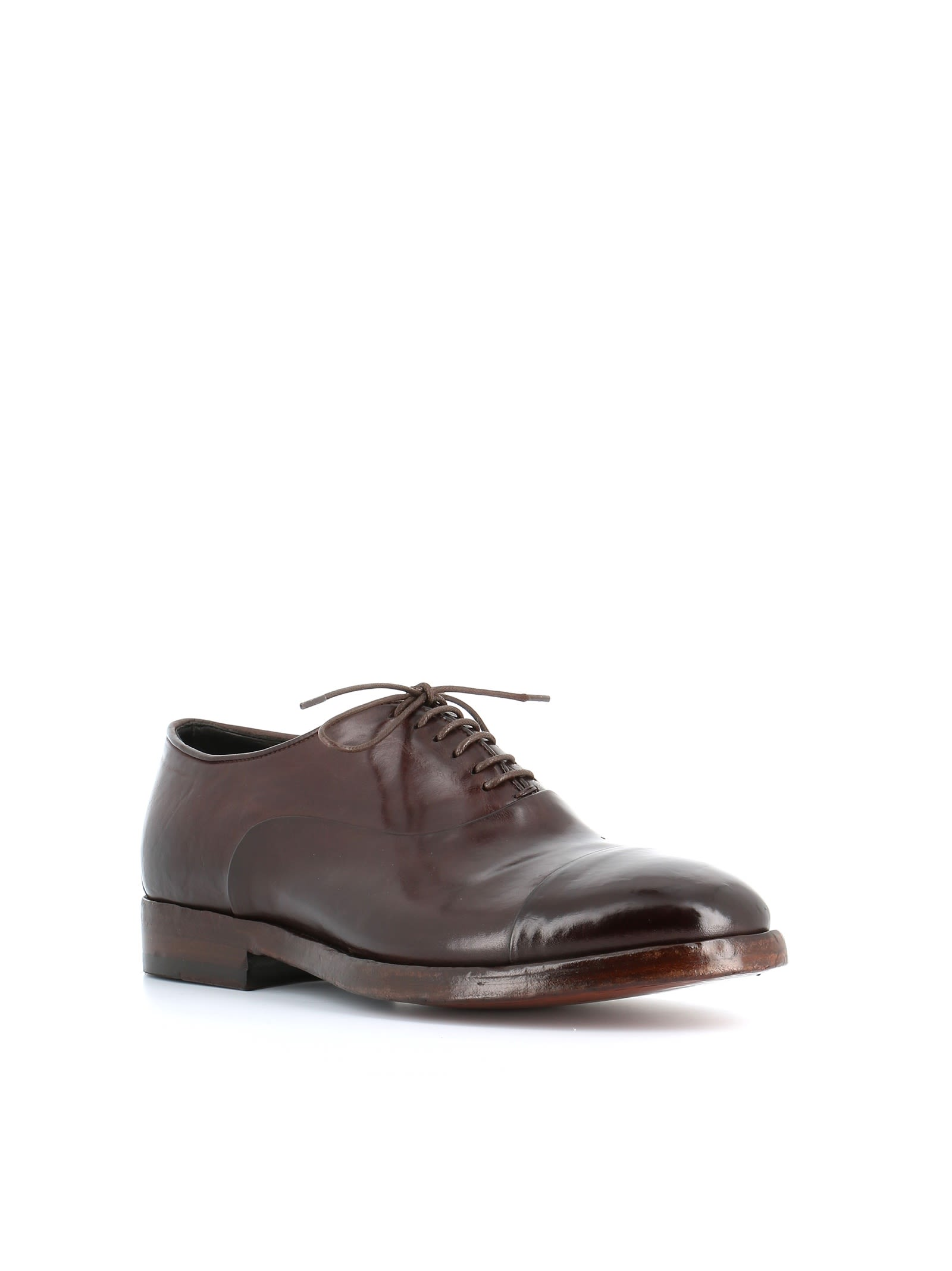 Alberto Fasciani Chaussures Oxford - Marron