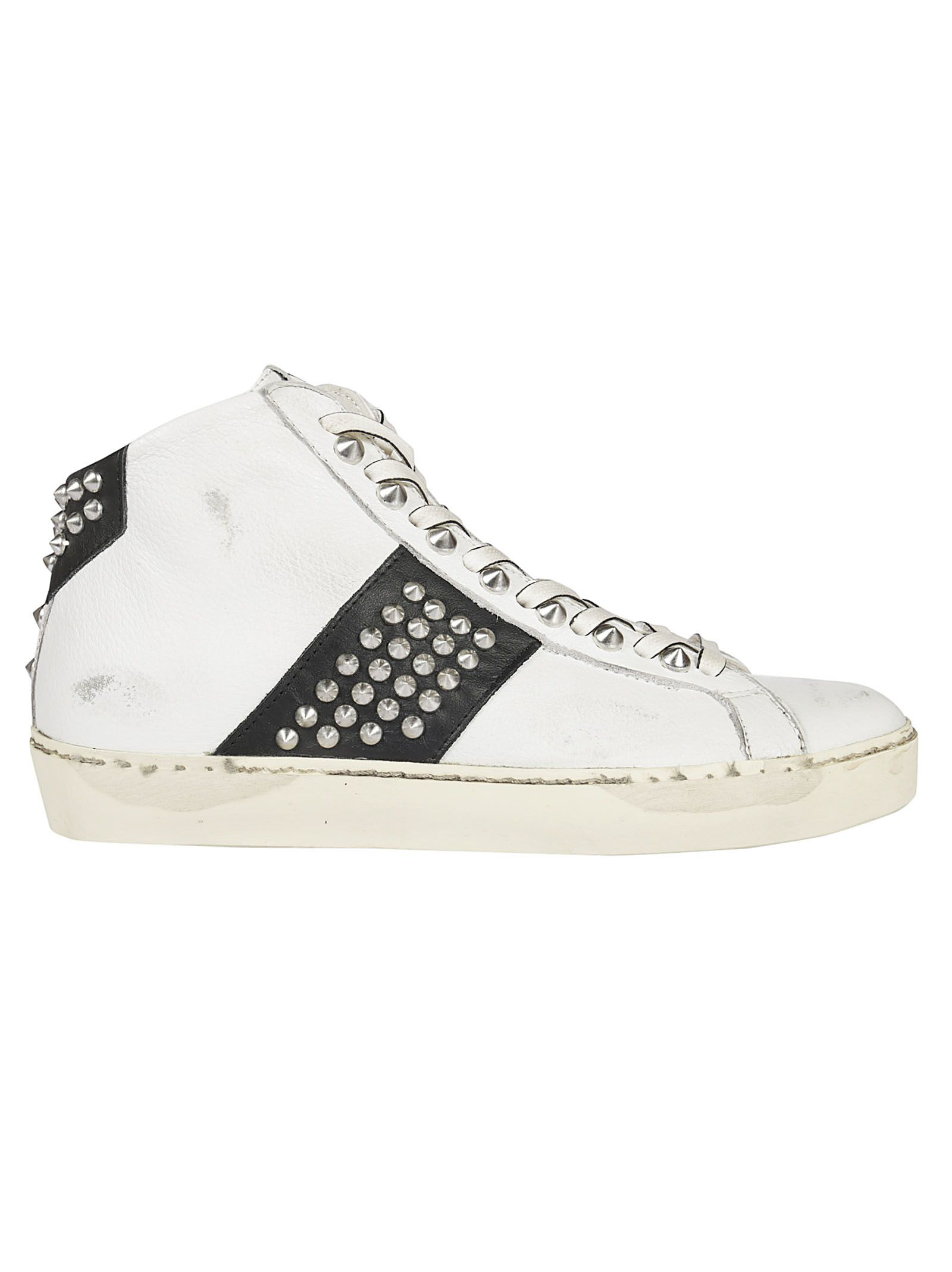 Leather Crown Wiconic Sneakers