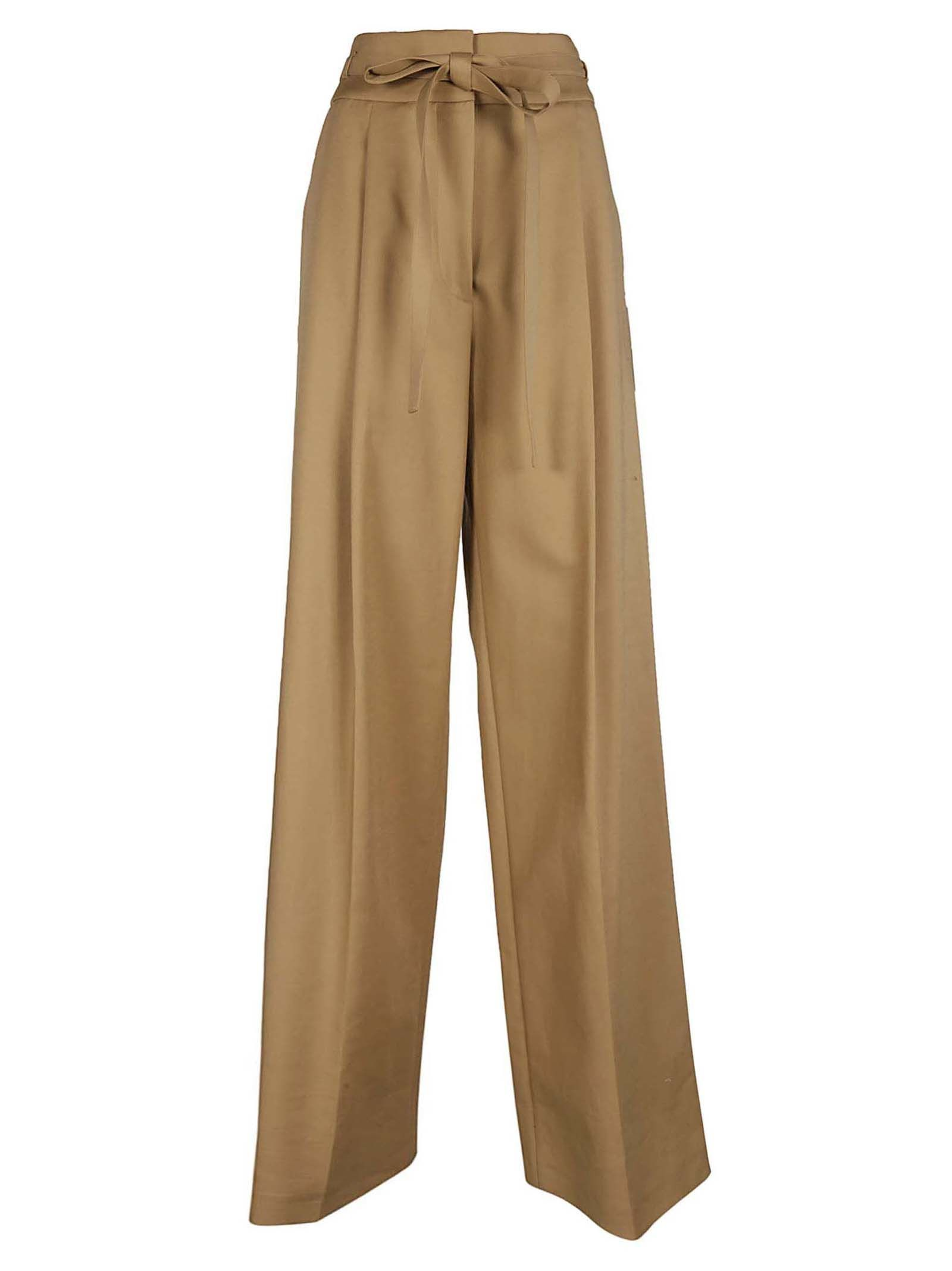 WIDE-LEG TROUSERS from Italist.com